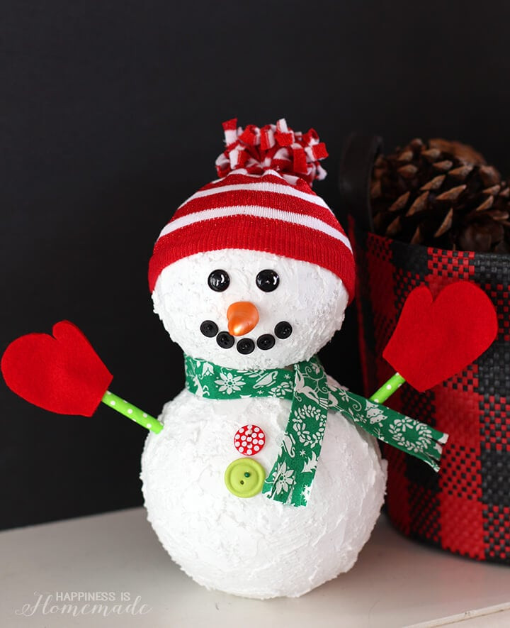 Lovely Christmas Snowman Holiday Decoration Happiness is Homemade Christmas Snowman Decorations Of Adorable 41 Models Christmas Snowman Decorations
