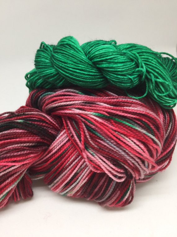Lovely Christmas sock Yarn Variegated In Red and Green with Green Variegated Yarn Of Beautiful 50 Pics Green Variegated Yarn
