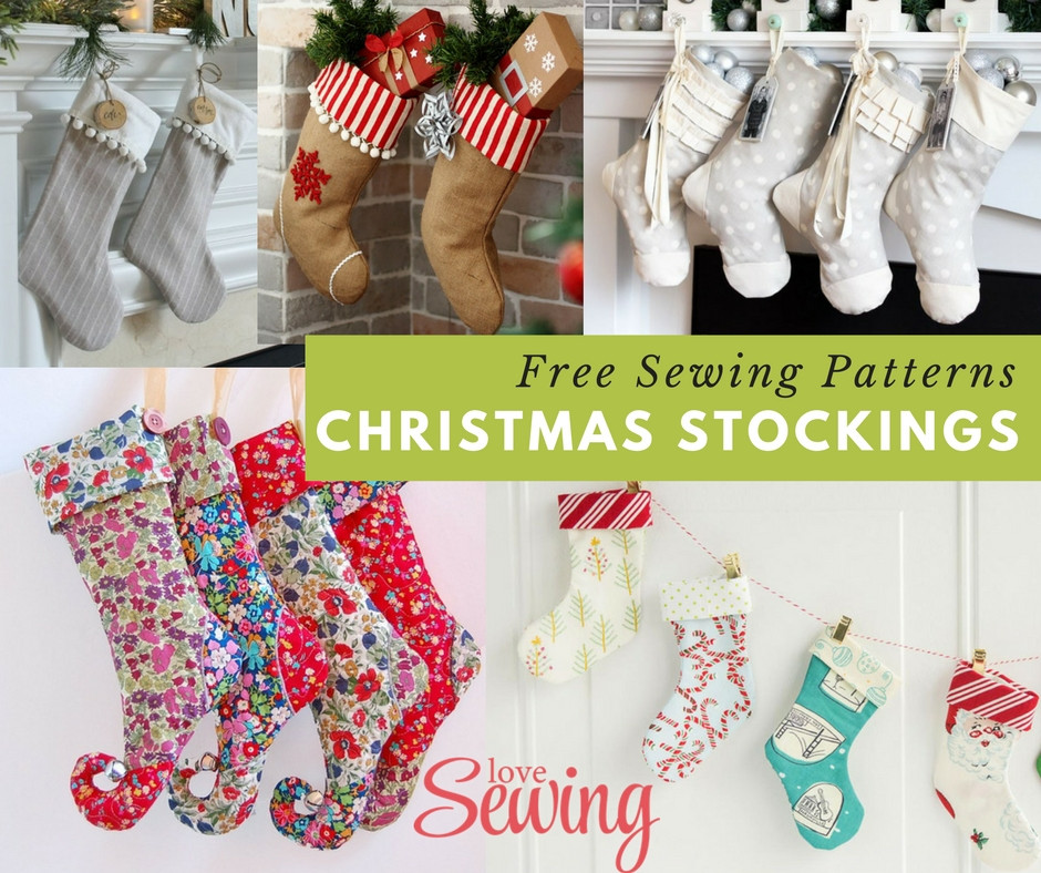 Lovely Christmas Stocking Sewing Patterns Christmas Sewing Patterns Of Contemporary 43 Images Christmas Sewing Patterns