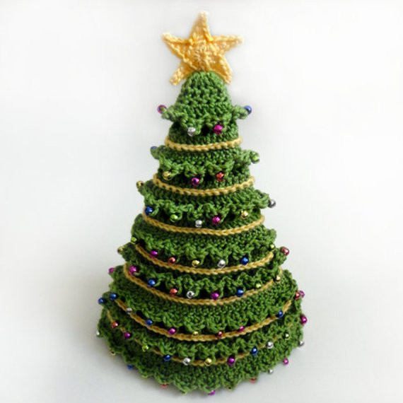 Lovely Christmas Tree Hat 5 Sizes Pdf Crochet Pattern Instant Crochet Christmas Trees Of Marvelous 46 Ideas Crochet Christmas Trees