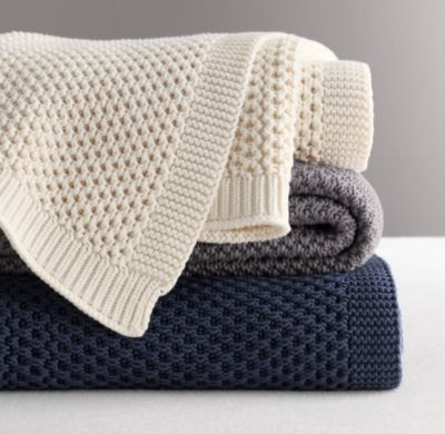 Lovely Chunky Cotton Knit Throw Cotton Knit Baby Blanket Of Awesome 41 Models Cotton Knit Baby Blanket