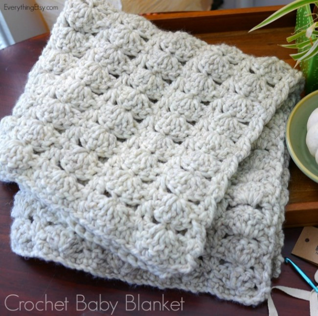Lovely Chunky Crochet Baby Blanket Crochet Baby Gift Of Innovative 49 Models Crochet Baby Gift
