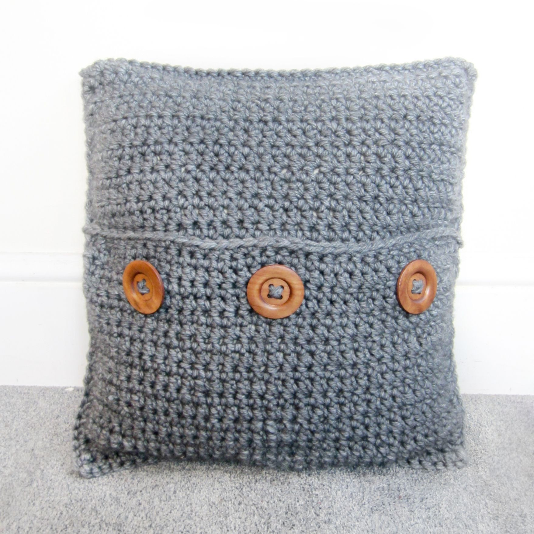 Lovely Chunky Crochet Cushion Fittex Bil Google Crochet Pillow Covers Of Incredible 47 Pics Crochet Pillow Covers