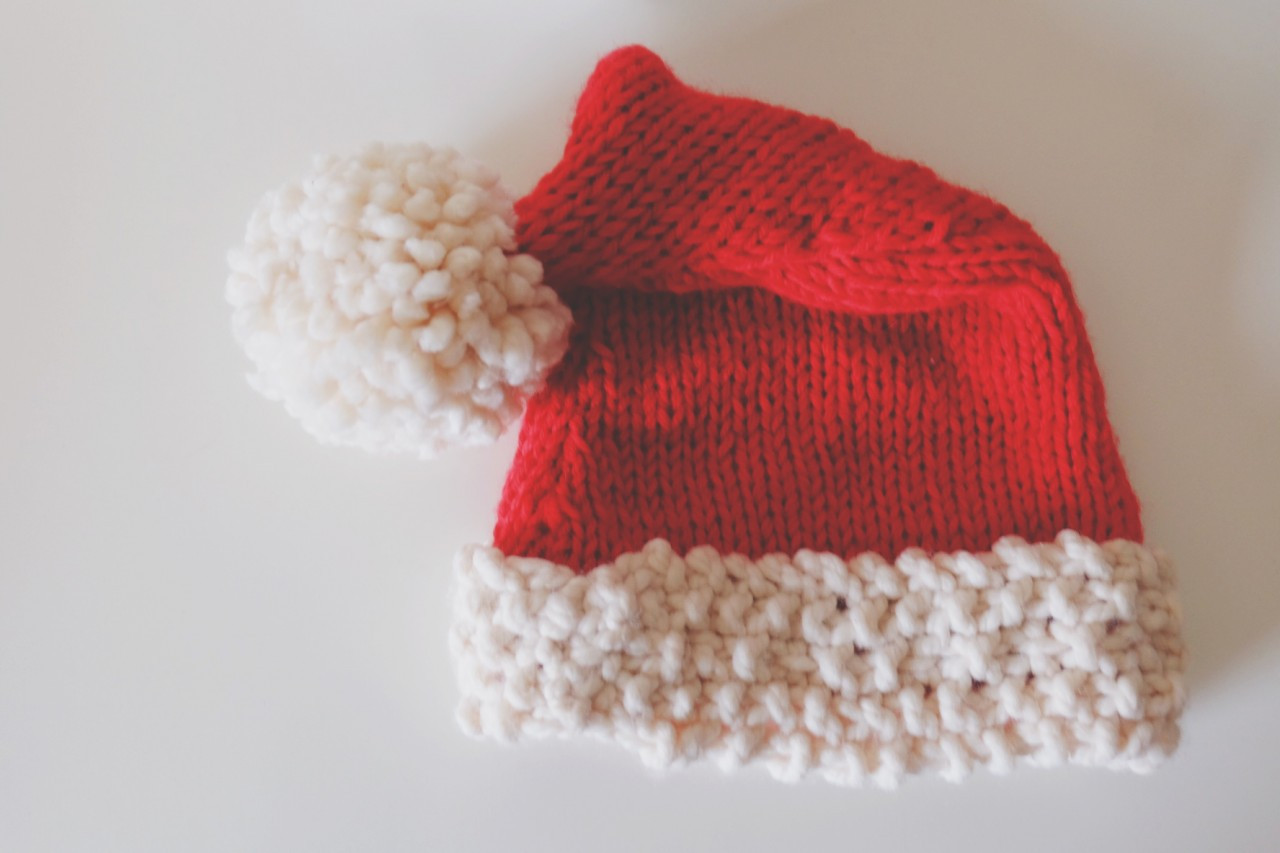 Lovely Chunky Santa Hat Free Knitting Patternmade Peachy Knitted Santa Hat Of Fresh 50 Photos Knitted Santa Hat