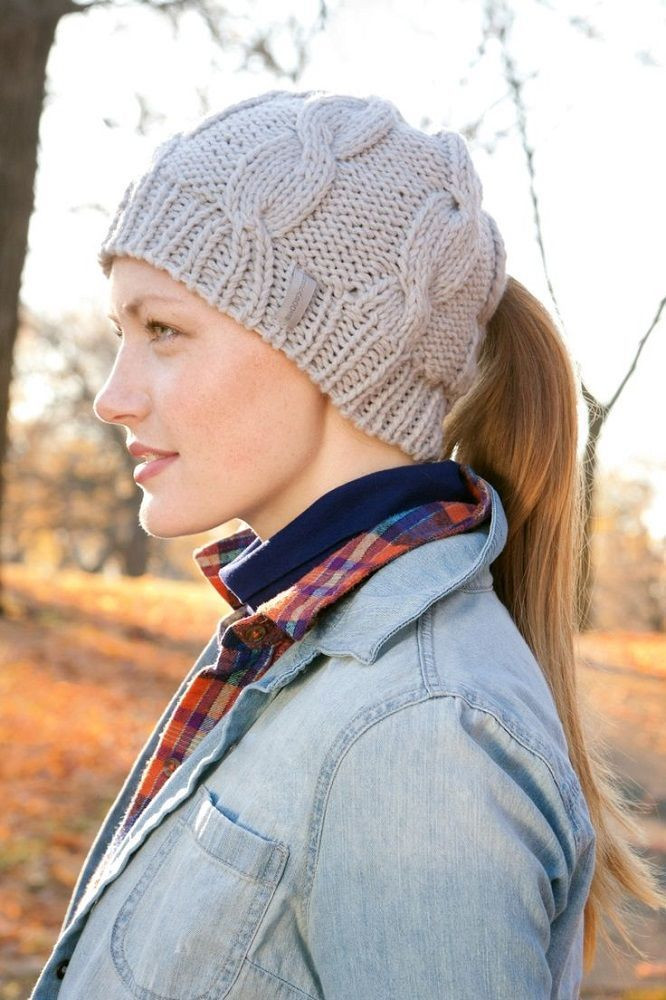Lovely Classic Cable Ponytail Hat by Peekaboos Gad Flow Ponytail Winter Hat Of Incredible 45 Pictures Ponytail Winter Hat