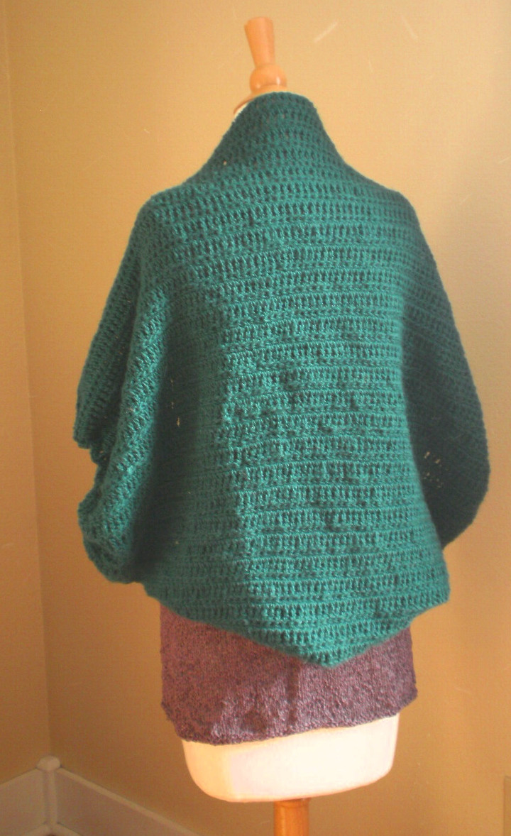 Lovely Cocoon Cardi Crochet Pattern – Handmade by Anne Potter Crochet Cocoon Cardigan Of Charming 45 Pics Crochet Cocoon Cardigan
