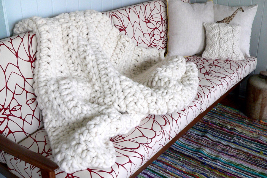 Lovely Cold Hands Warm Heart Chunky Blanket Chunky Yarn Blanket Pattern Of Wonderful 45 Images Chunky Yarn Blanket Pattern