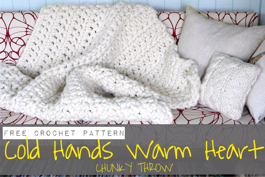 Lovely Cold Hands Warm Heart Chunky Blanket Chunky Yarn Crochet Blanket Of Perfect 50 Pictures Chunky Yarn Crochet Blanket