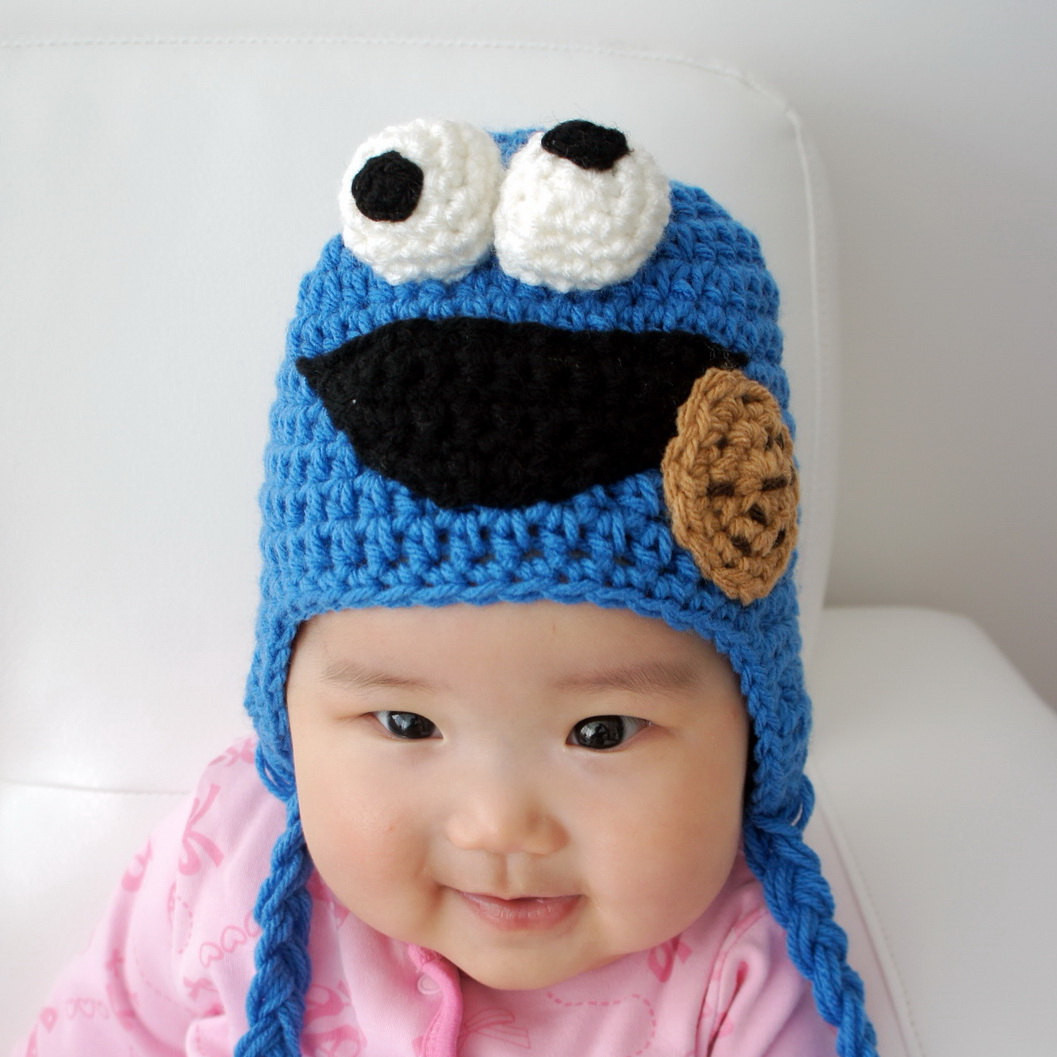 Lovely Cookie Monster Hat Speedy Crochet Baby Hat Animal Hat Baby Animal Hats Of Attractive 49 Images Baby Animal Hats