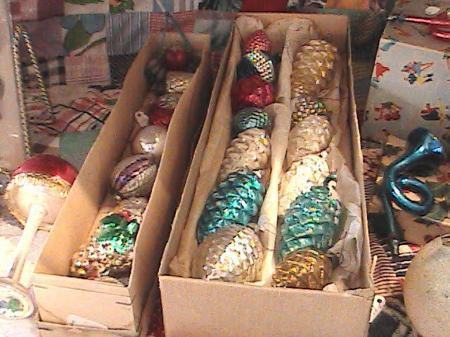 Country Garden Antiques Antique Christmas Ornaments for sale