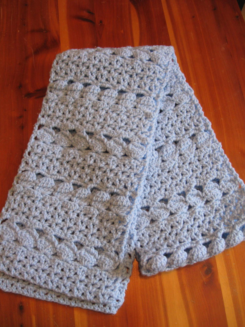 Lovely Cozy Blue Crochet Scarf Crochet A Shawl Of Beautiful Cornflower Blue Free Crochet Pattern Crochet A Shawl