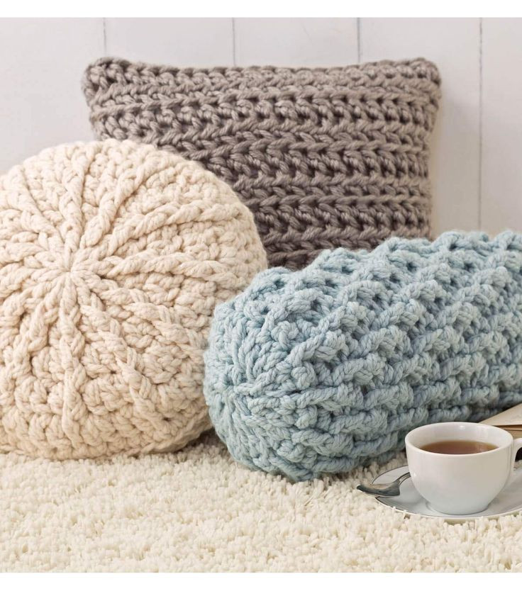 Lovely Cozy Crochet Pillows Square Round and Neck Roll Crochet Pillow Patterns Of New 49 Models Crochet Pillow Patterns