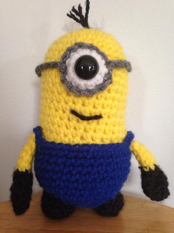 Lovely Craftdrawer Crafts Free Crochet Despicable Me Minion Minion Crochet Pattern Of Lovely 46 Images Minion Crochet Pattern