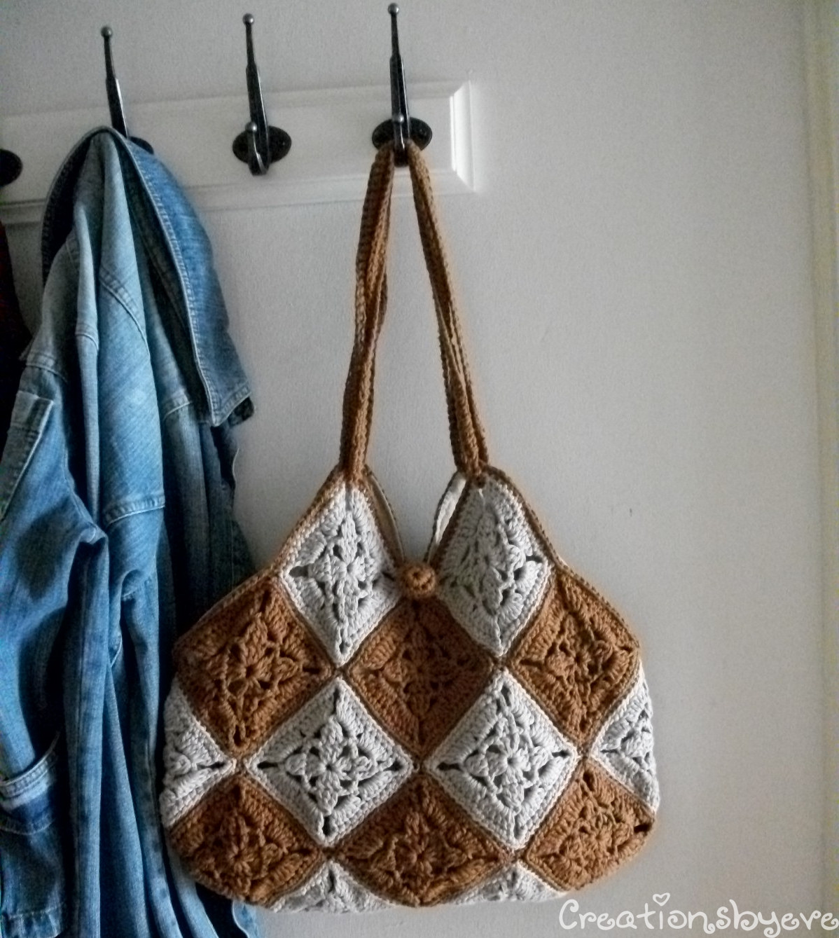 Lovely Creationsbyeve Eng Granny Squares the Trendy Take Crochet Hobo Bag Of Adorable 47 Pictures Crochet Hobo Bag