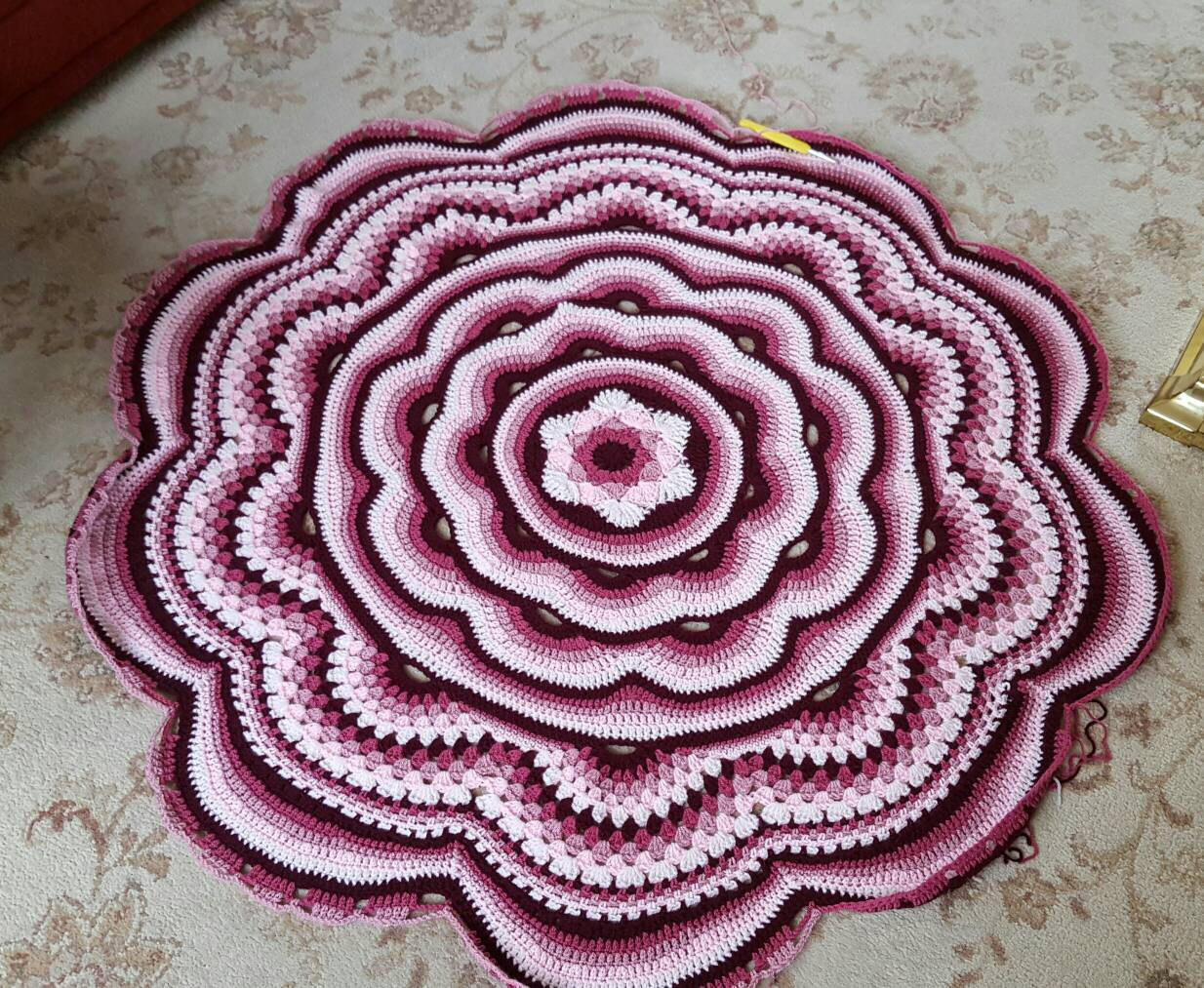 Lovely Crochet Afghan Blanket Round Blanket Round Afghan Flower Crochet Circle Blanket Of Innovative 46 Models Crochet Circle Blanket