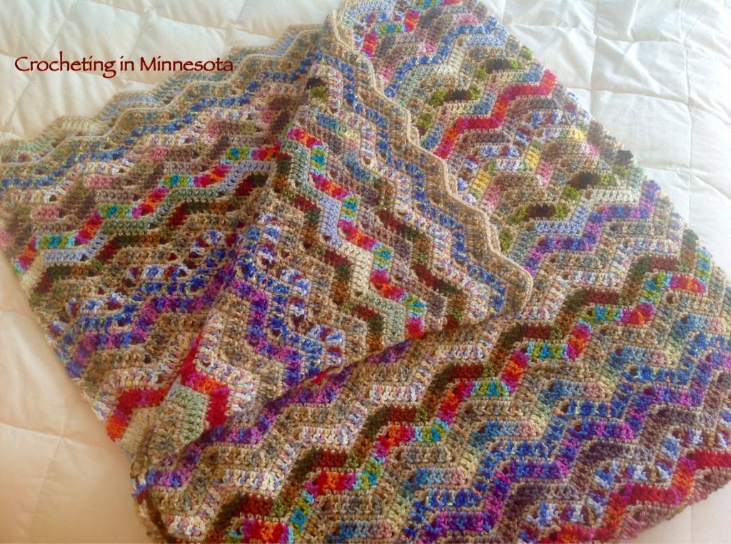 Lovely Crochet Afghan Pattern for Variegated Yarn Pakbit for Variegated Yarn Crochet Patterns Of Attractive 44 Ideas Variegated Yarn Crochet Patterns