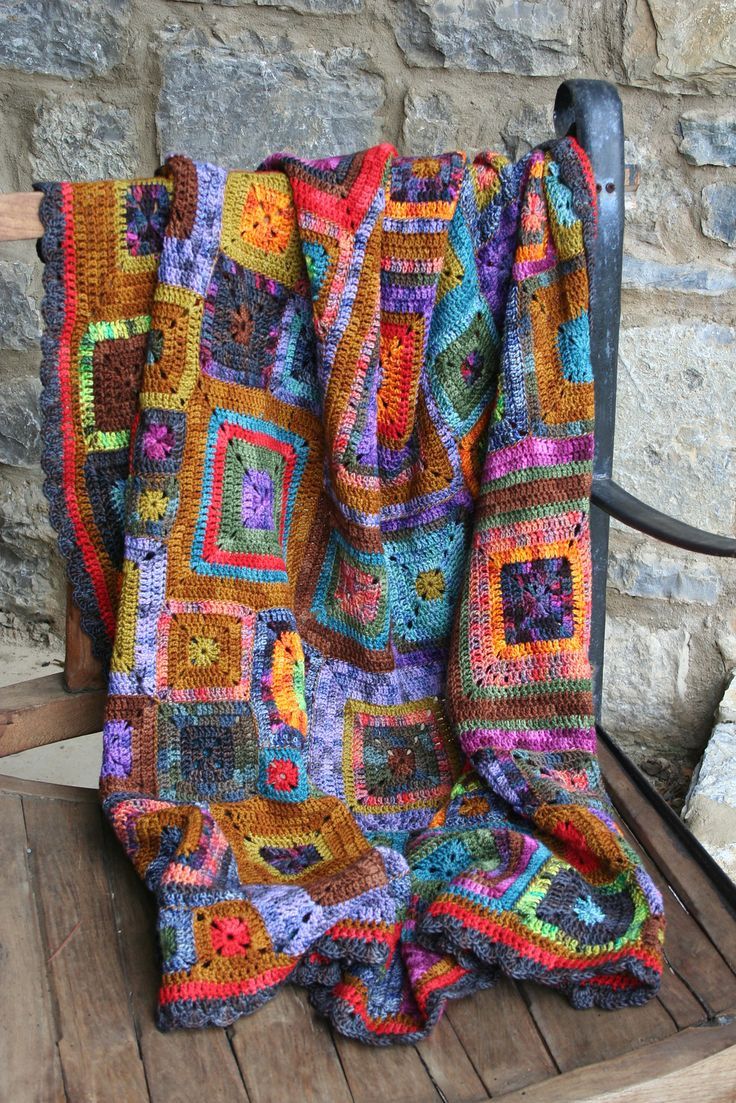 Lovely Crochet Afghan Patterns with Variegated Yarn Pakbit for Variegated Yarn Crochet Patterns Of Attractive 44 Ideas Variegated Yarn Crochet Patterns