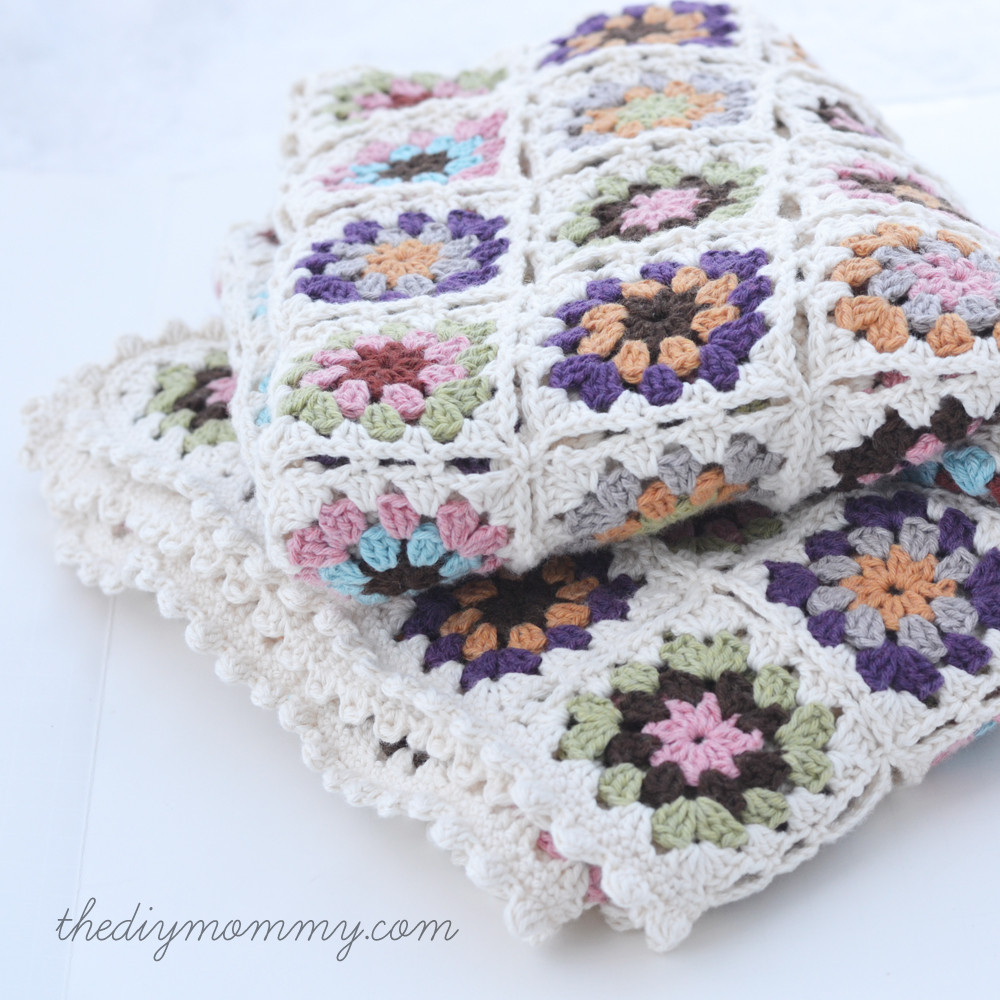 Lovely Crochet An organic Cotton Granny Square Baby Blanket Granny Square Baby Blanket Of Amazing 41 Pictures Granny Square Baby Blanket