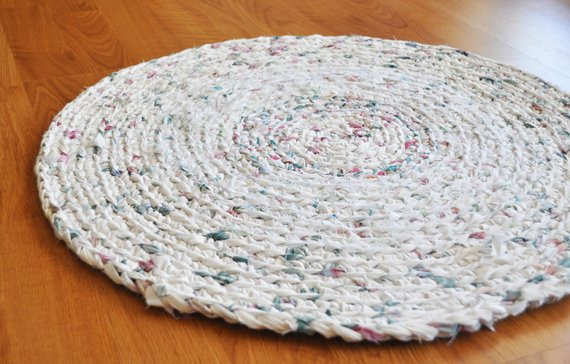 Lovely Crochet area Rug White with Flower Petals Bathroom Rug by Ekra Crochet Bathroom Rug Of Great 43 Images Crochet Bathroom Rug