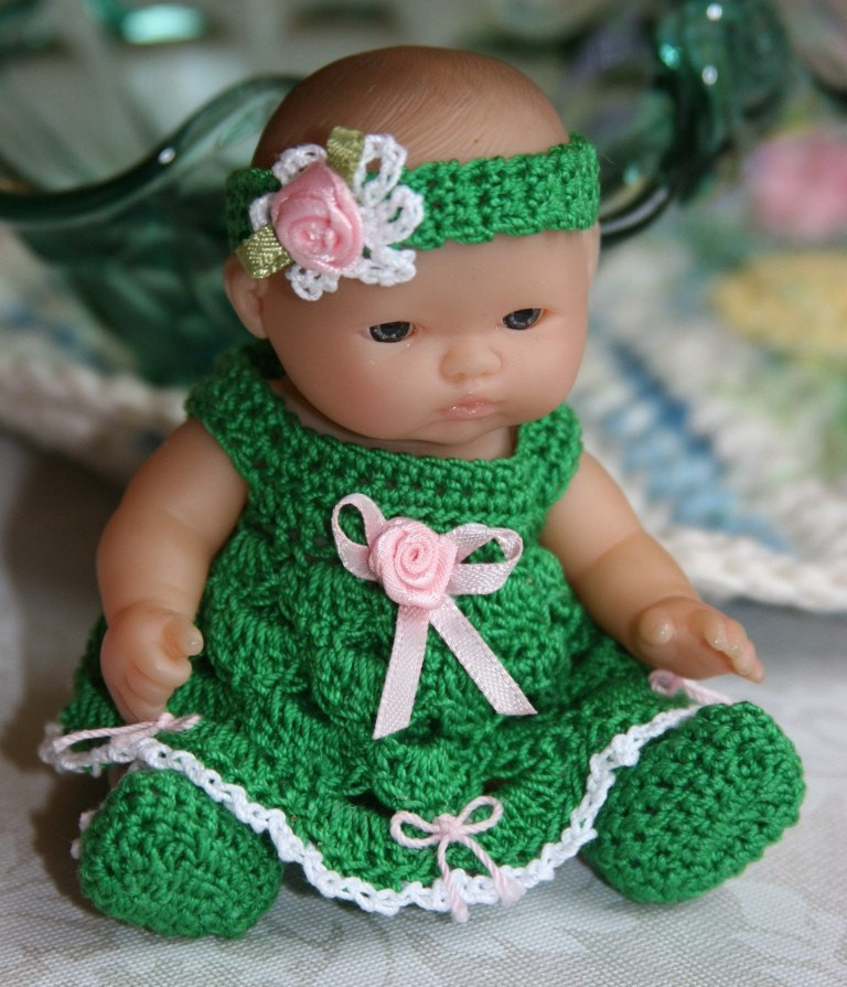 Lovely Crochet Baby Doll Clothes Berenguer 5 Inch by Crochet Baby Stuff Of Superb 43 Models Crochet Baby Stuff