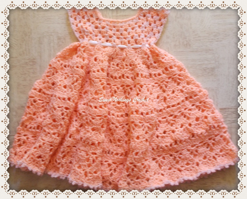 Lovely Crochet Baby Dress Archives ⋆ Free Baby Crochet Crochet Girl Dress Of Awesome 46 Images Crochet Girl Dress