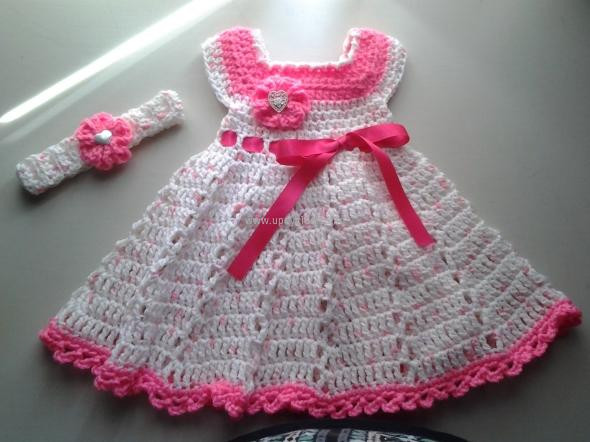 Lovely Crochet Baby Dress Patterns for Free Crochet Dress for Baby Of Amazing 42 Photos Crochet Dress for Baby