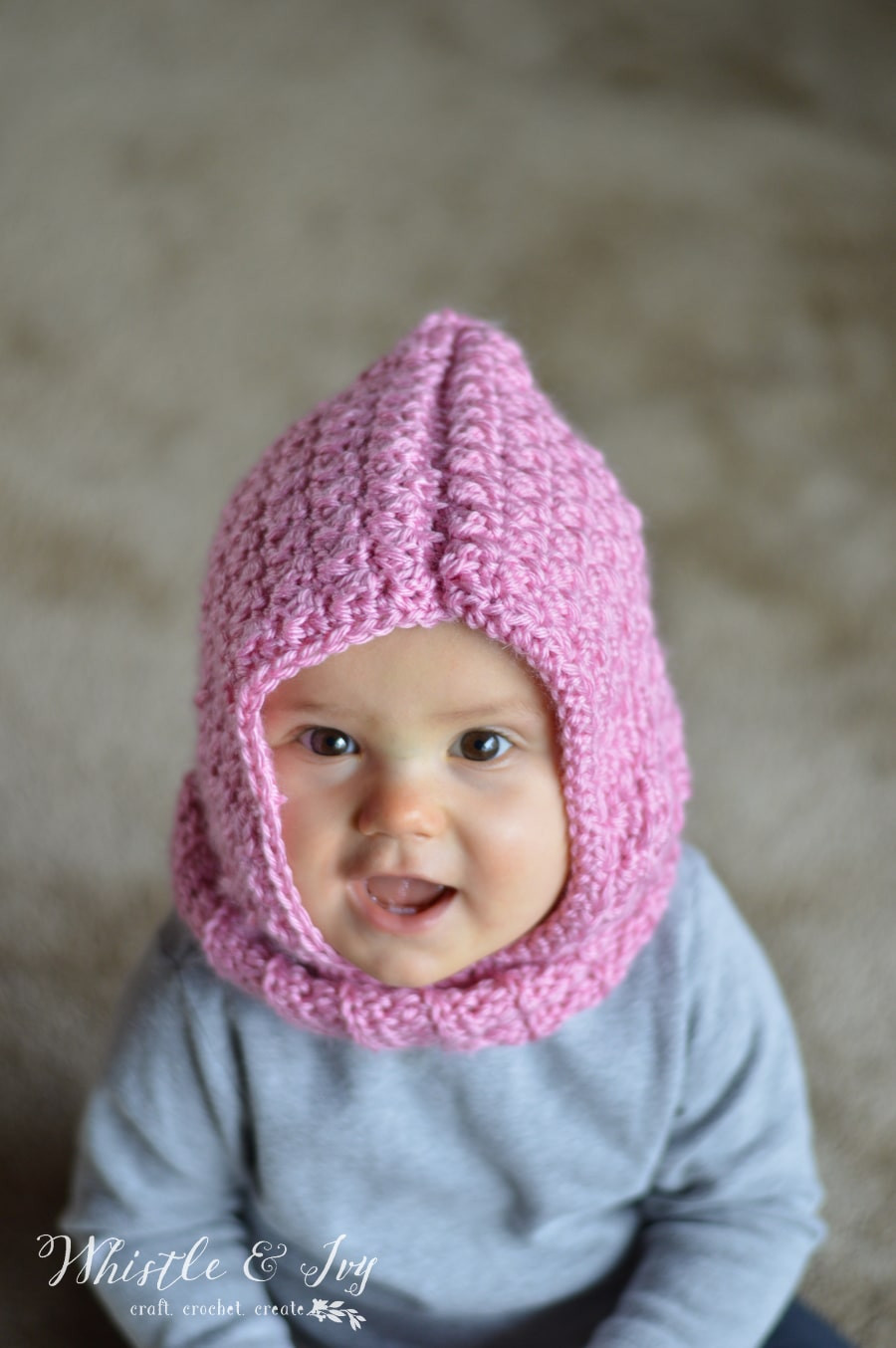 Lovely Crochet Baby Hooded Cowl Whistle and Ivy Free Crochet Hood Pattern Of Great 43 Photos Free Crochet Hood Pattern