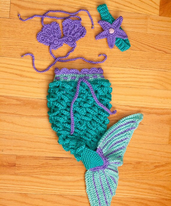 Lovely Crochet Baby Mermaid Set Crochet Baby Sets Of Amazing 49 Models Crochet Baby Sets