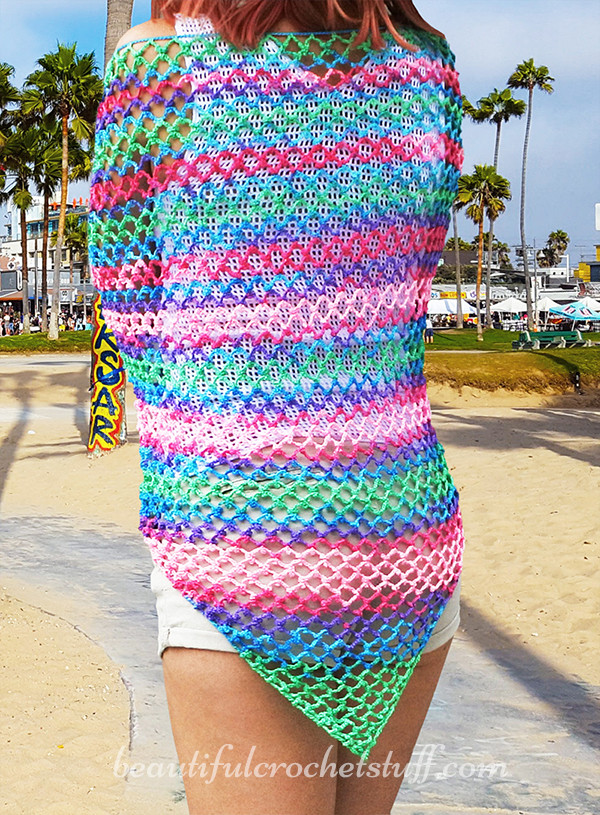 Lovely Crochet Beach Cover Up Free Pattern Crochet Beach Cover Ups Patterns Of Beautiful 40 Models Crochet Beach Cover Ups Patterns