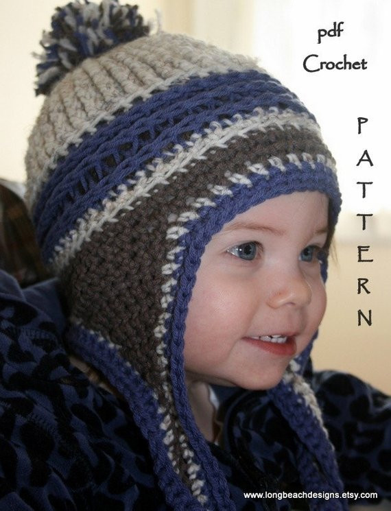 Lovely Crochet Beanie Pattern Ear Flap Crochet Pattern Kids Earflap Hat Crochet Pattern Of Wonderful 43 Images Earflap Hat Crochet Pattern