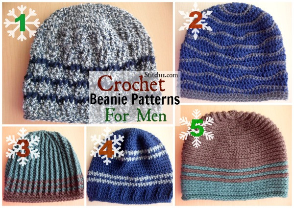 Lovely Crochet Beanie Patterns for Men Free Mens Crochet Hat Patterns Of Awesome 40 Ideas Free Mens Crochet Hat Patterns