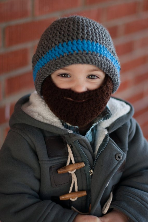 Lovely Crochet Beard Hat with Detachable Beard Baby Beard Hat Crochet Beard Hat Of Charming 44 Models Crochet Beard Hat