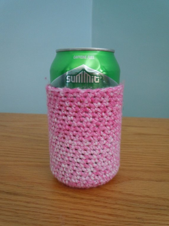 Lovely Crochet Beer Can Koozie Crochet Can Cozy Crochet by Can Cozy Of Wonderful 48 Pictures Can Cozy
