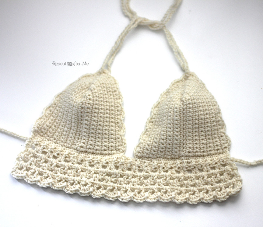 Lovely Crochet Bikini top Repeat Crafter Me Crochet Swimsuit top Of Charming 43 Pictures Crochet Swimsuit top