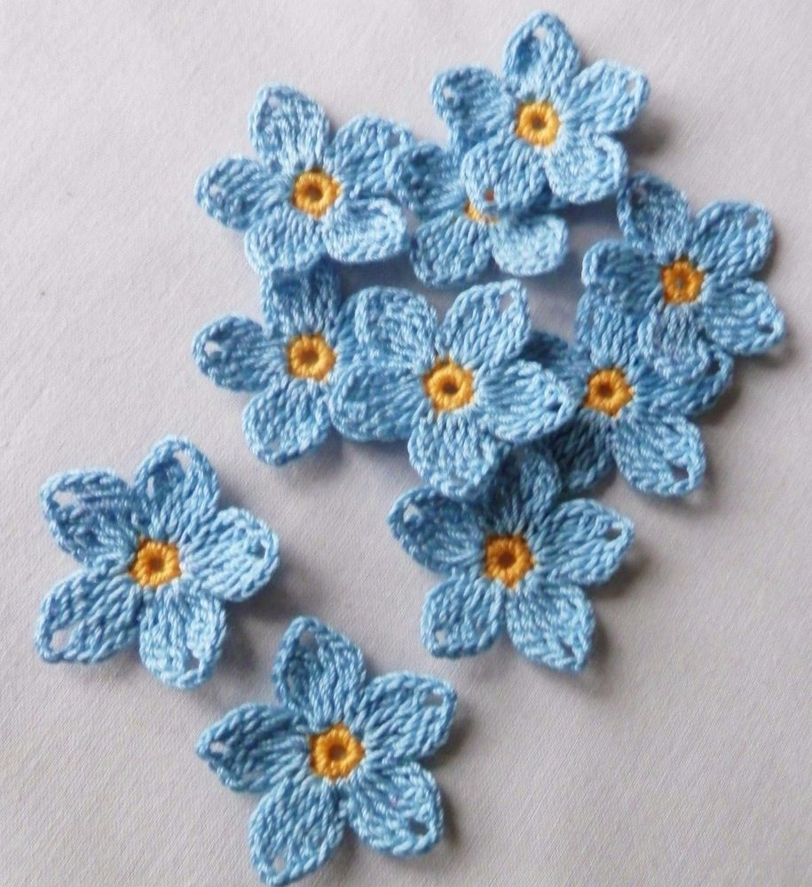 Lovely Crochet Blue Flowers Appliques Paper Scrapbooking Supplies Crochet Supplies Of Luxury 43 Photos Crochet Supplies