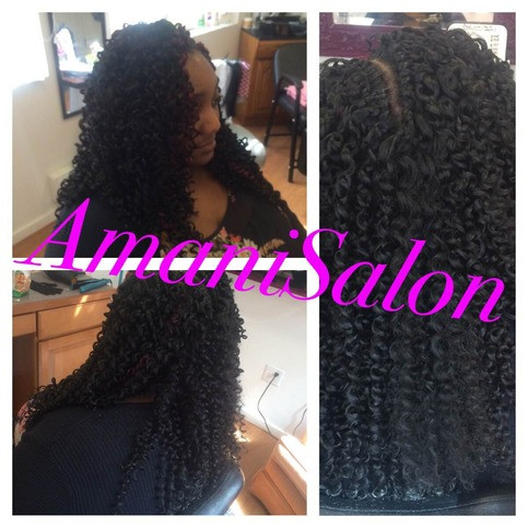 Lovely Crochet Braids Loose Hair · Sewin Weave and Hair Crochet Braids Salon Of Amazing 47 Ideas Crochet Braids Salon