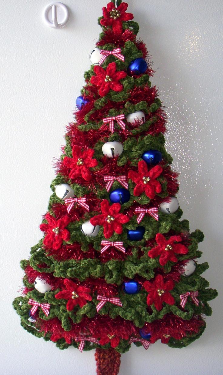 Lovely Crochet Christmas Christmas Tree Crocheted Pune Dore Per Crochet Christmas Trees Of Marvelous 46 Ideas Crochet Christmas Trees