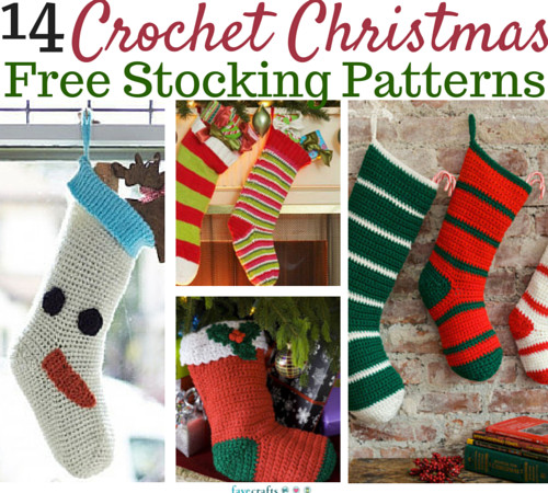 Lovely Crochet Christmas Stockings 8 Free Patterns Crochet Pattern for Christmas Stocking Of Best Of Crochet Christmas Stockings B Hooked Crochet Crochet Pattern for Christmas Stocking