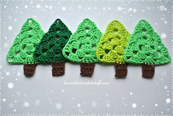 Lovely Crochet Christmas Tree Free Pattern Crochet Christmas Trees Of Marvelous 46 Ideas Crochet Christmas Trees
