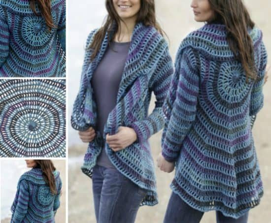 Lovely Crochet Circular Jacket Pattern Free Circle Sweater Of Innovative 50 Ideas Circle Sweater