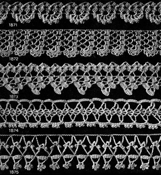 Lovely Crochet Edging Patterns for Gifts Free Vintage Crochet Crochet Lace Edging Pattern Of Amazing 40 Photos Crochet Lace Edging Pattern
