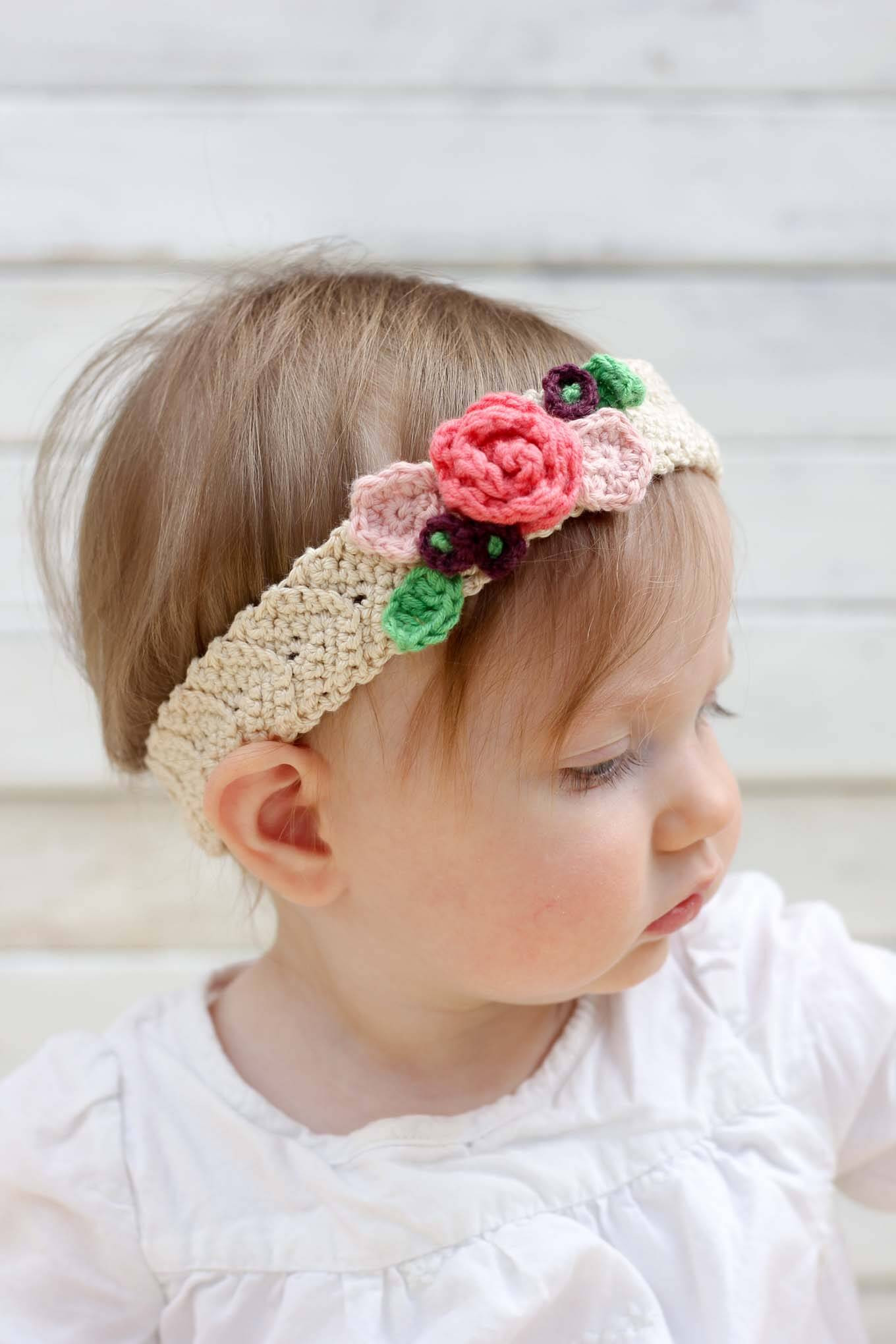 Lovely Crochet Flower Headband Pattern Baby Crochet and Knit Baby Headband Knitting Pattern Of New 47 Ideas Baby Headband Knitting Pattern