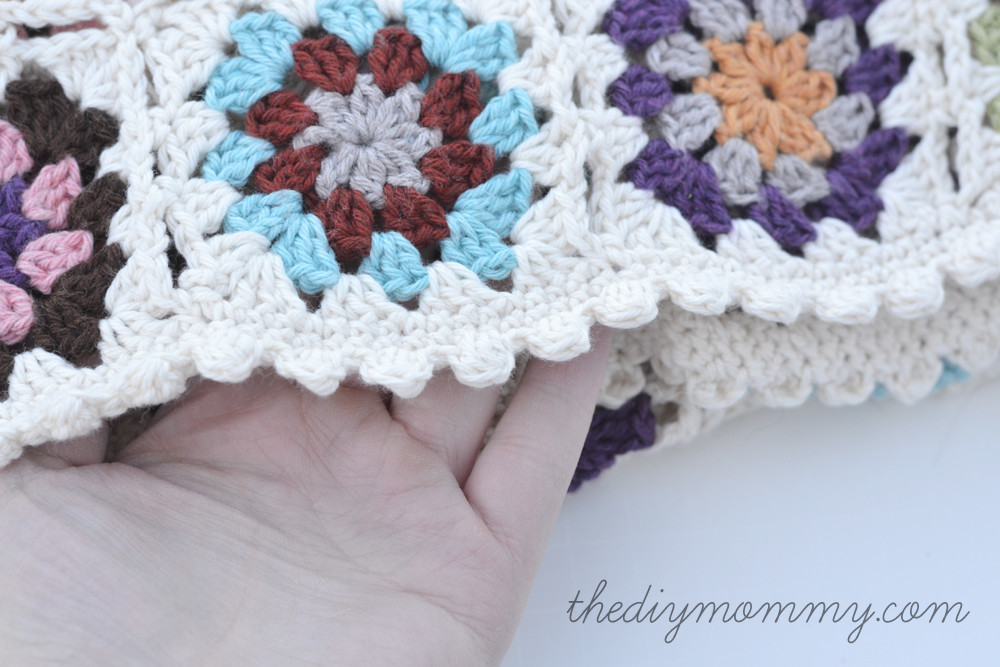 Lovely Crochet Granny Square Edging Patterns Crochet and Knit Granny Square Baby Blanket Of Amazing 41 Pictures Granny Square Baby Blanket