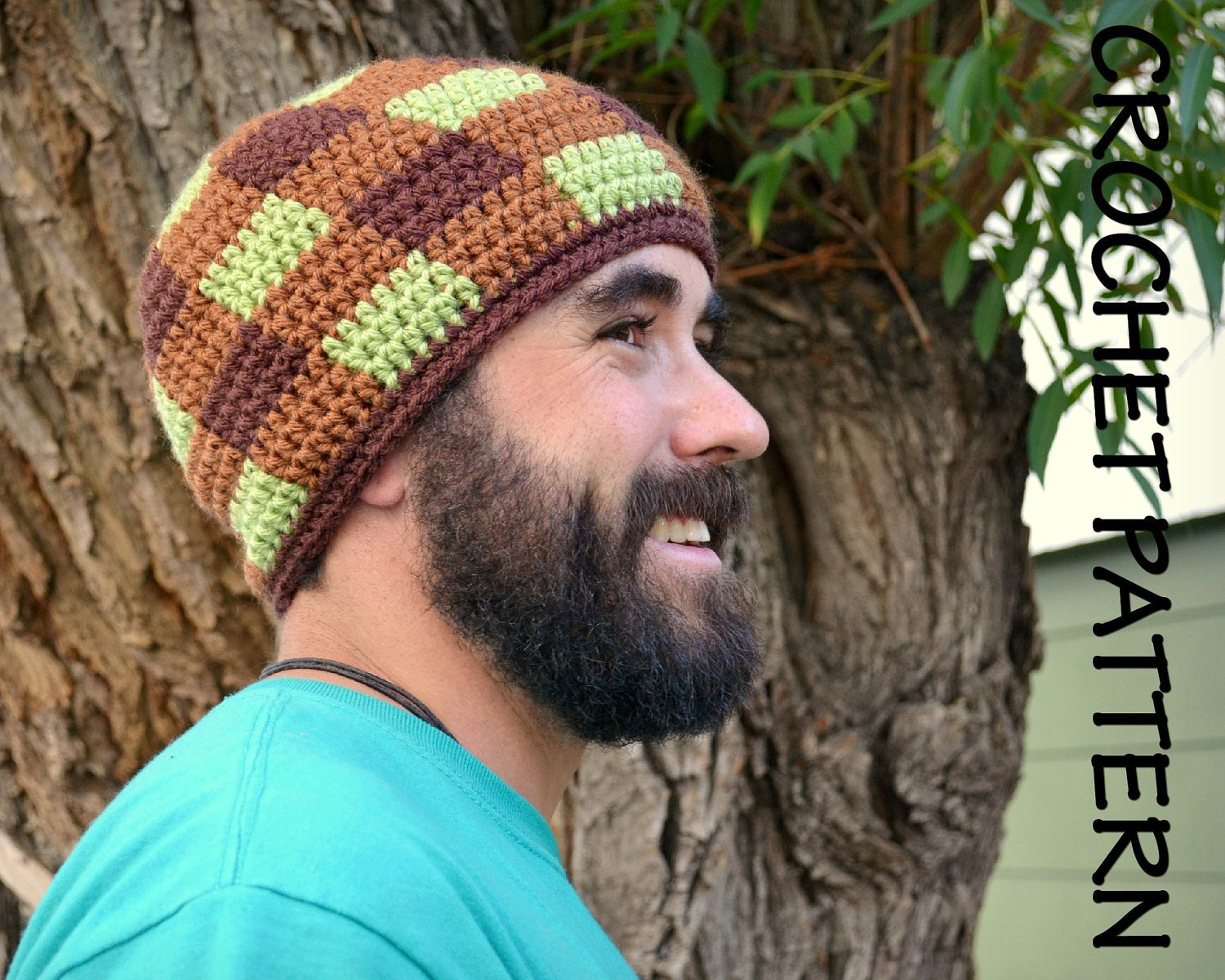 Lovely Crochet Hat Pattern Adult S Gingham Beanie Adult Crochet Hat Of Contemporary 46 Pics Adult Crochet Hat
