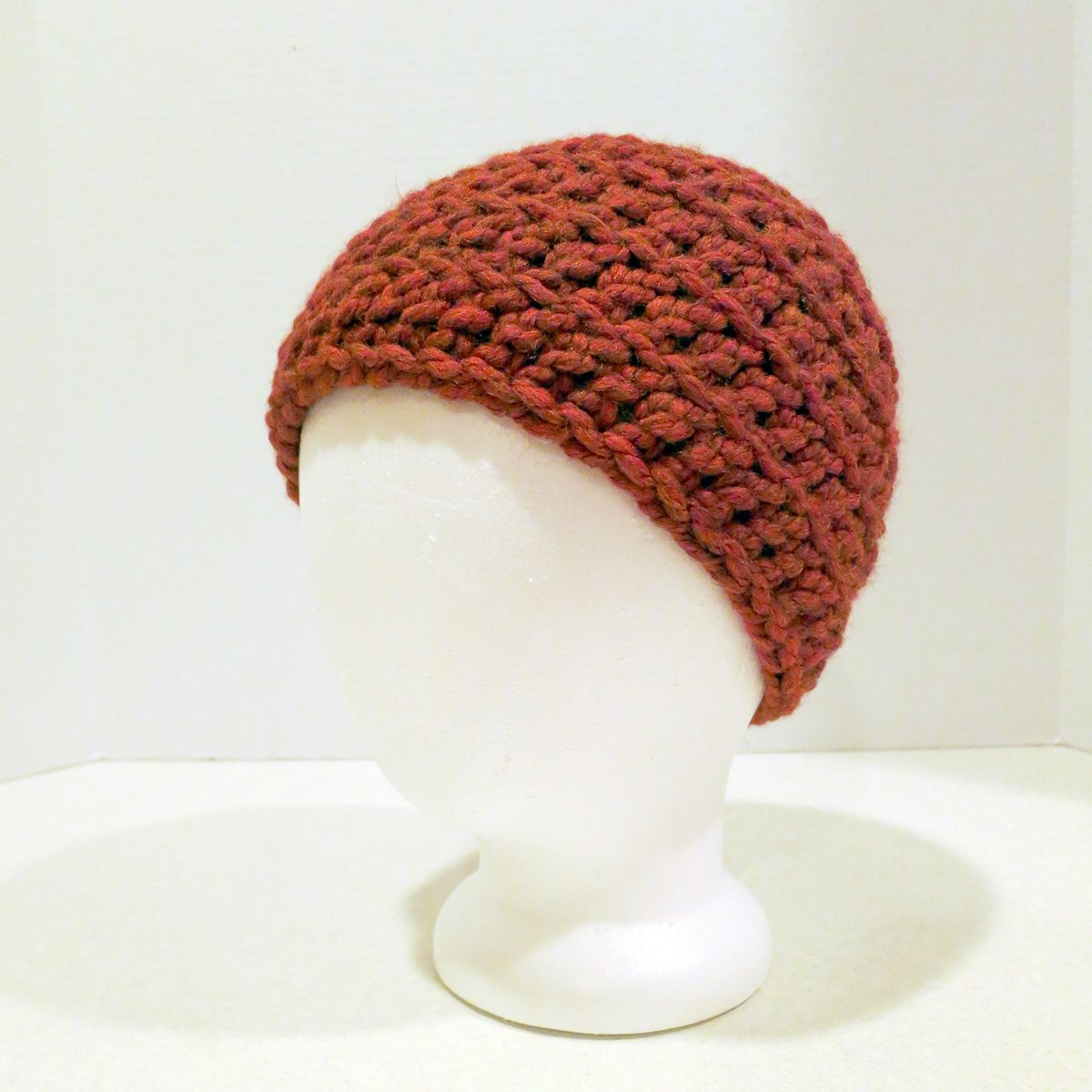 Lovely Crochet Hat Pattern Chunky Back Loop Beanie Uni Chunky Crochet Beanie Pattern Of Elegant Chunky Knit Hat Pattern Roundup 12 Quick & Cozy Patterns Chunky Crochet Beanie Pattern
