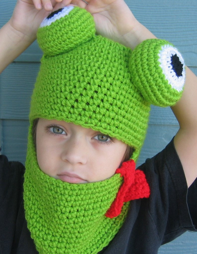 Lovely Crochet Hat Pattern Frog Hat Hood for Adult Child Boy or Girl Adult Crochet Hat Of Contemporary 46 Pics Adult Crochet Hat