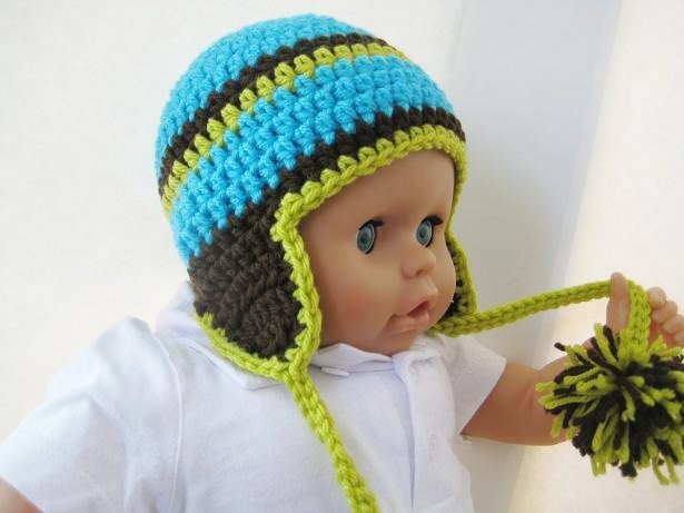 Lovely Crochet Hat Pattern Newborn Baby to Adult Boy and Girl Baby Hat with Ear Flaps Of Perfect 41 Pics Baby Hat with Ear Flaps