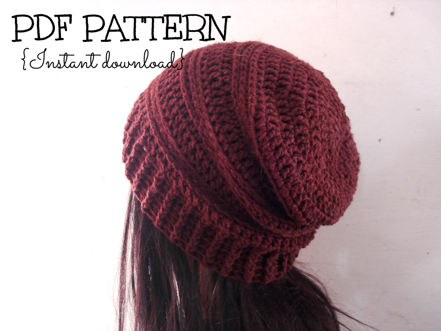 crochet hats for adults patterns