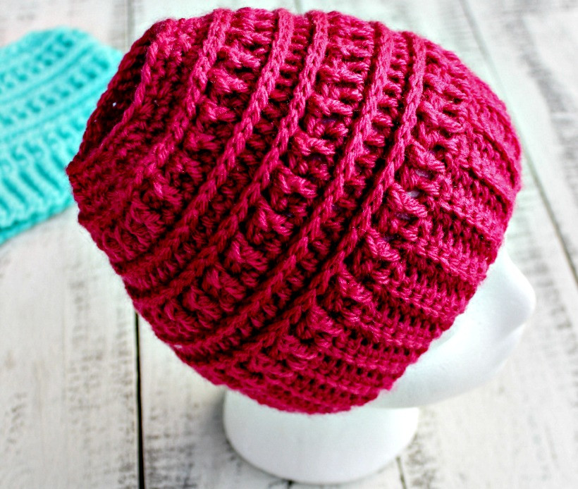 Lovely Crochet Katniss Messy Bun Hat Bun Beanie Crochet Pattern Of Charming 42 Pics Bun Beanie Crochet Pattern