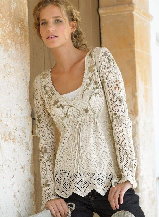 """Lovely Crochet Lace Sweaters that Will Make People Say """"oooo"""" Lacy Crochet Cardigan Pattern Of Beautiful 46 Pics Lacy Crochet Cardigan Pattern"""